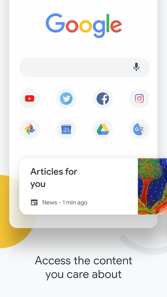Chrome Web Browser for Android