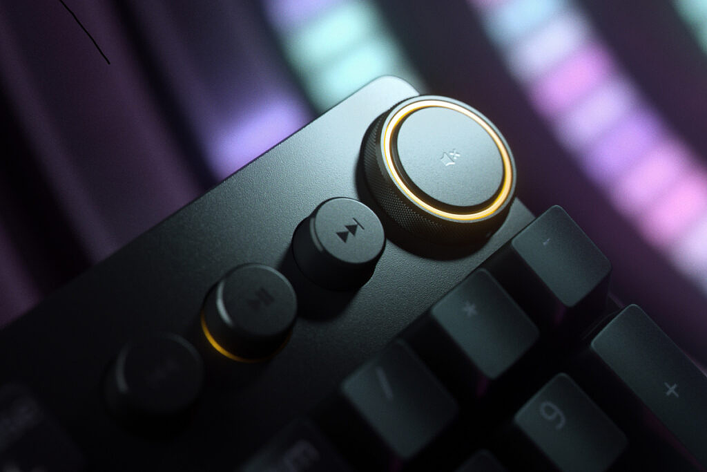 Multi-function dial and media control keys
