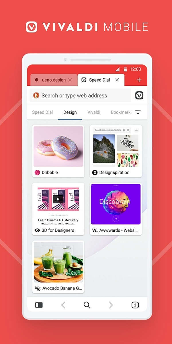 Vivaldi Web Browser for Android