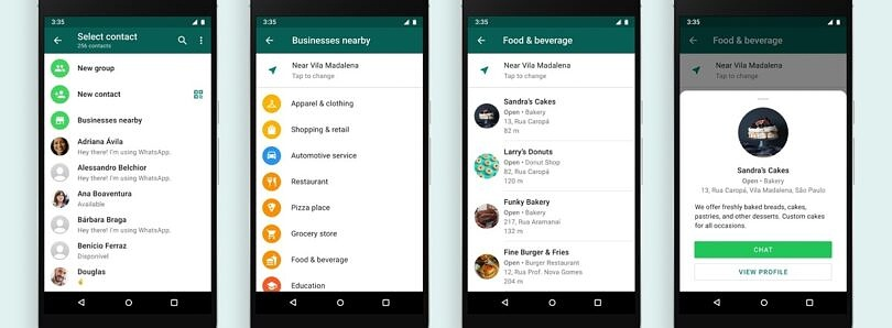 WhatsApp is testing local business directories to help customers find local shops, cafes, and more