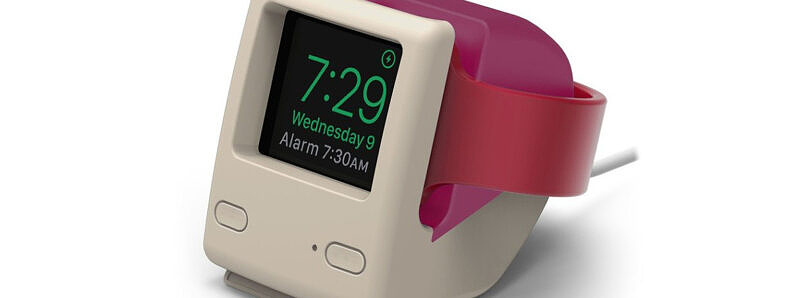 Get the iMac-inspired Elago W4 Apple Watch Stand for just $11