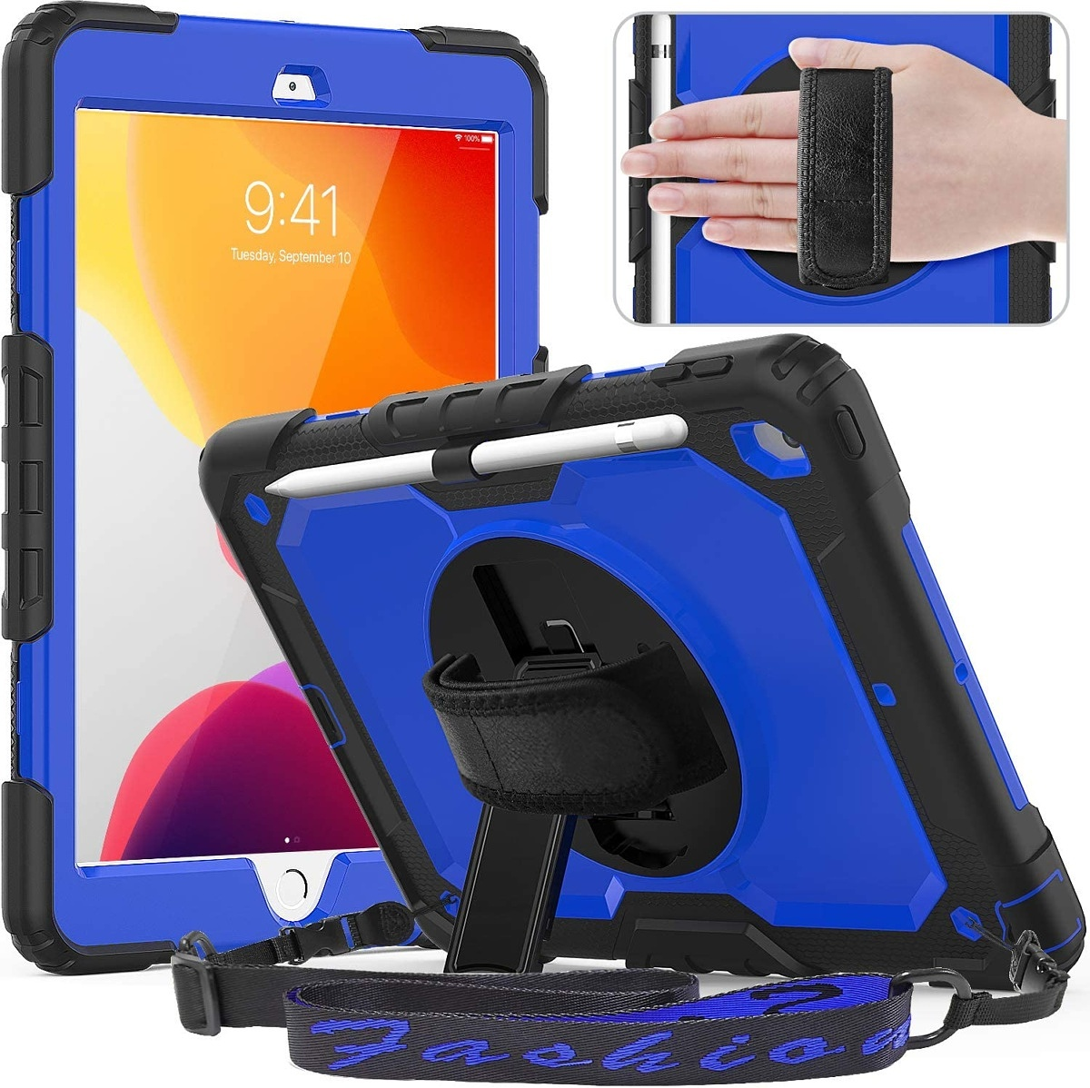 Timecity Stand Case with Hand Strap and Shoulder Strap