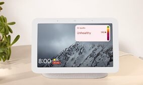 Air Quality Index begins showing up on non-Nest smart displays