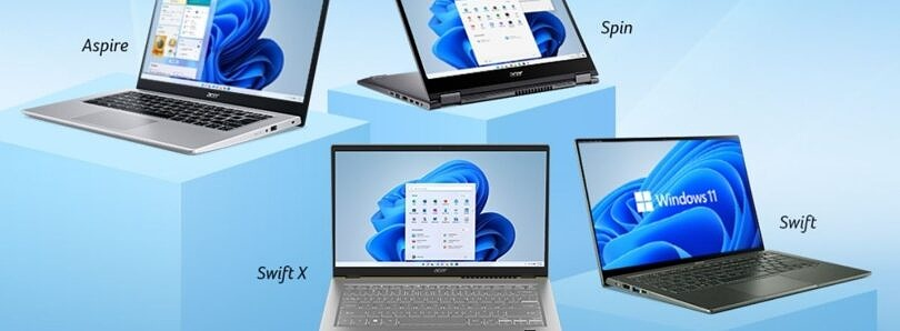 Acer launches six new laptops in India with Windows 11 pre-installed