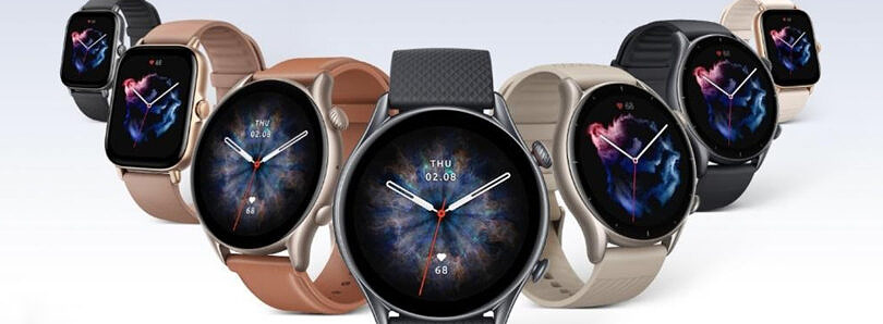 The Amazfit GTR 3 and GTS 3 smartwatches pack premium hardware and sleek designs