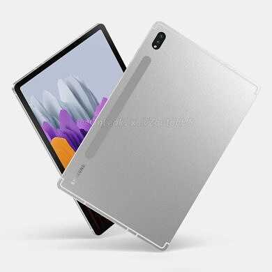 Leaked renders give us our first look at Samsung's upcoming flagship tablet