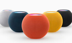 The HomePod Mini now comes in five different colors