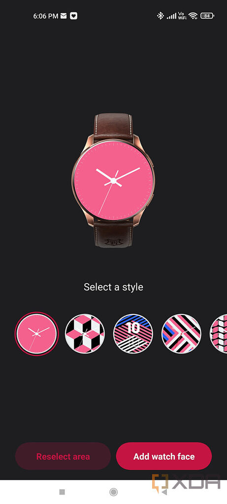 OnePlus Health app screenshot showing AI Watch face for OnePlus Watch Harry Potter Limited Edition