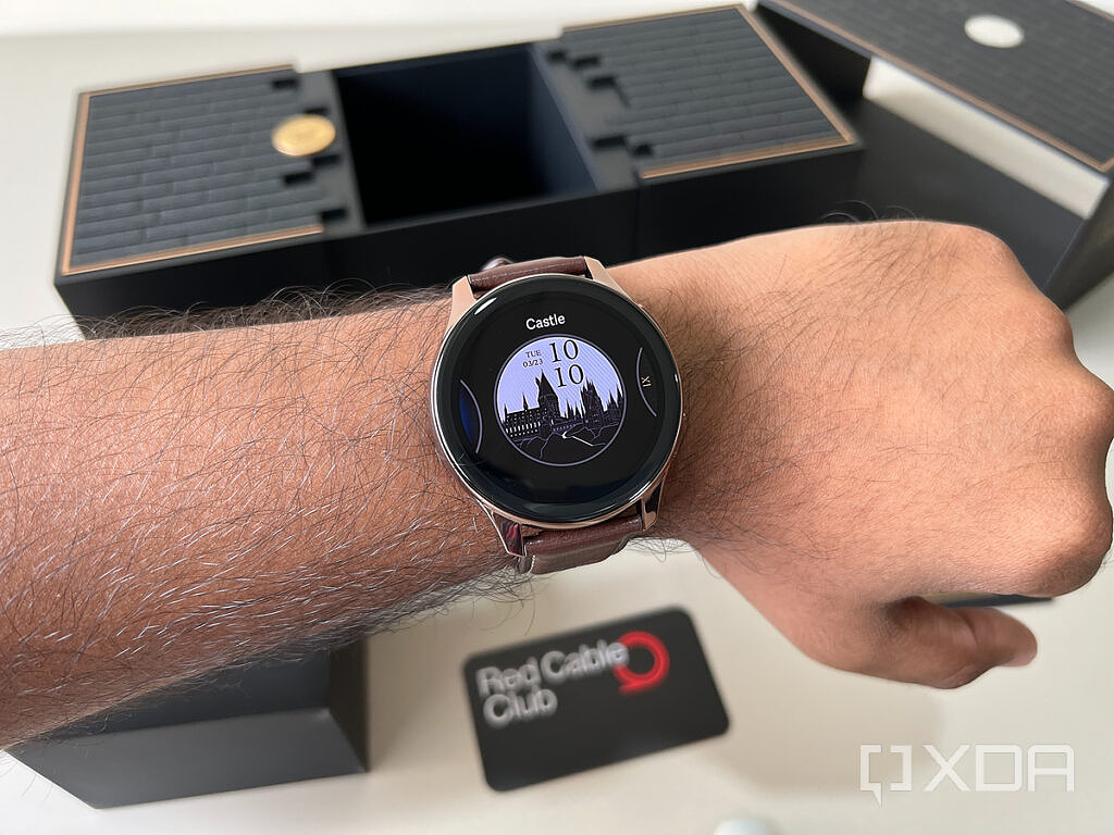 OnePlus Watch Harry Potter Limited Edition showing exclusively themed watch face