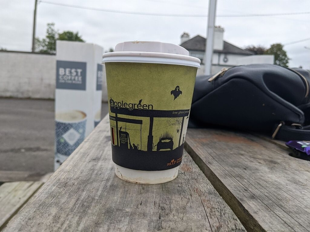 Pixel 5 coffee cup
