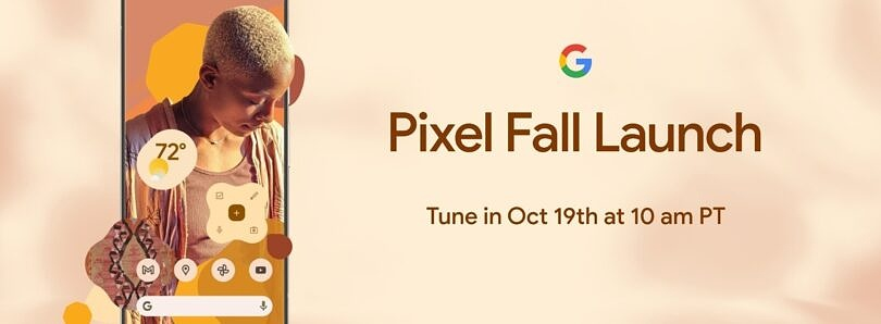 It's official – the Google Pixel 6 series will launch on October 19