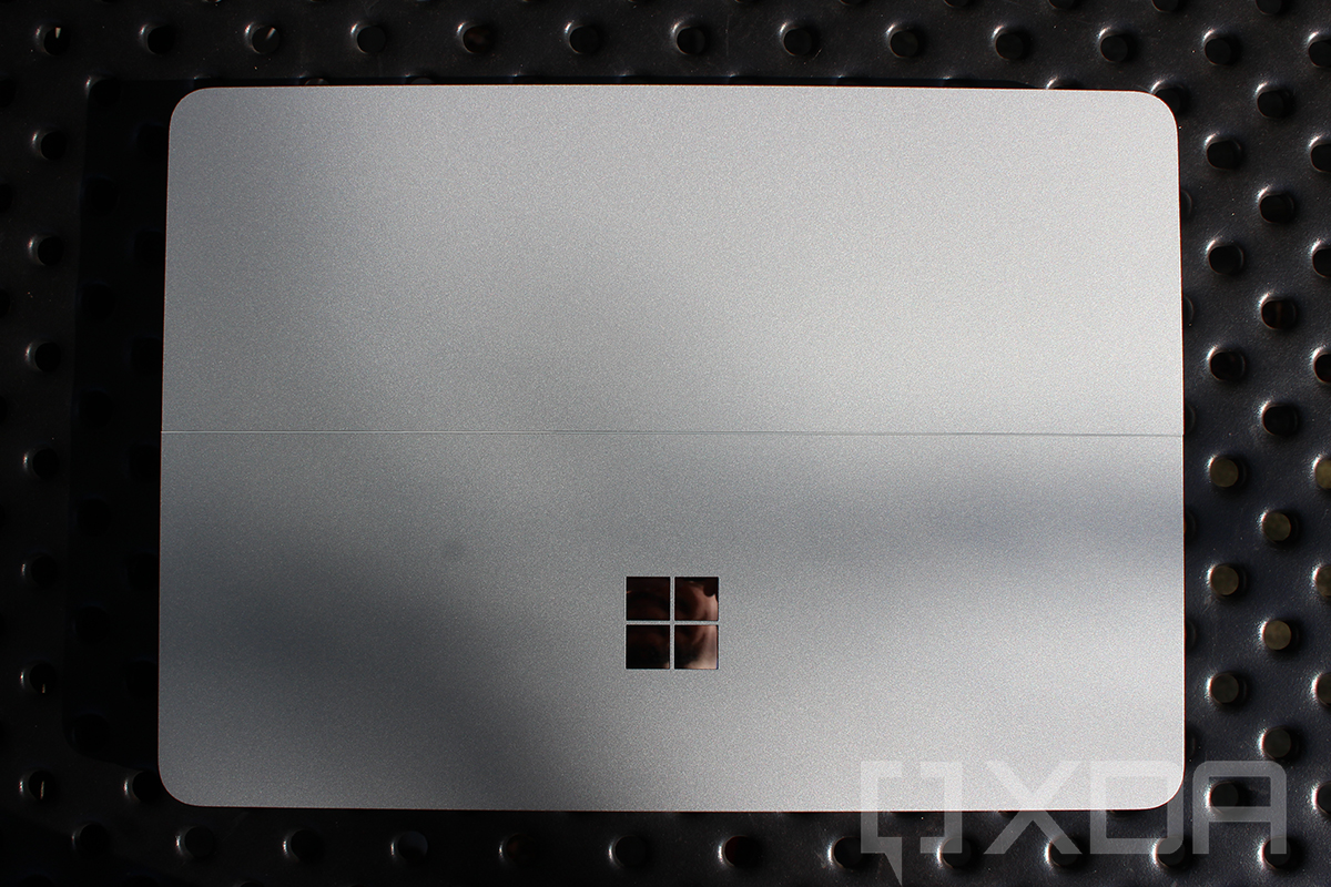 Top down view of Surface Laptop Studio
