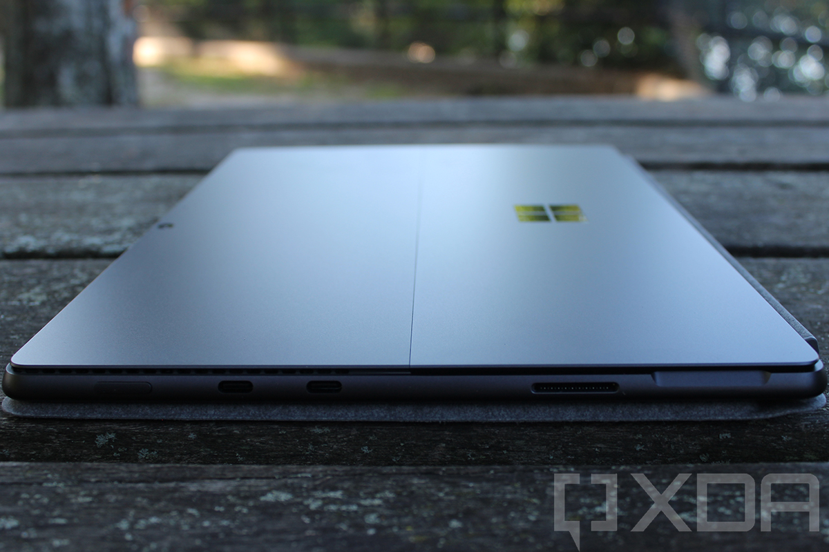 Side view of Surface Pro 8