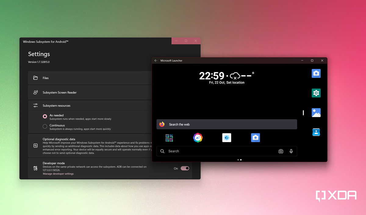 PSA: Trying out Windows Subsystem for Android? Install an Android launcher to make your life easier - XDA Developers