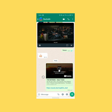 WhatsApp tests a new redesign for Picture-in-Picture mode