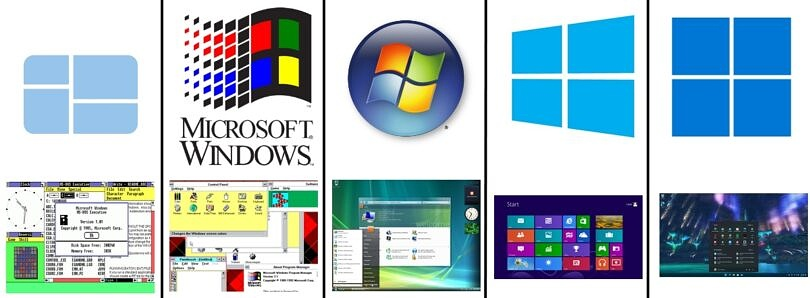 As Windows 11 rolls out, take a look at the past Windows version history