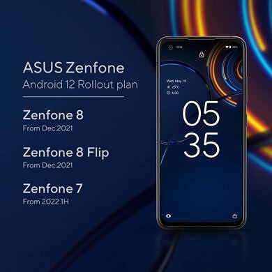 ASUS announces Android 12 Release Schedule for Zenfone 8, Zenfone 7 and ROG Phone Series
