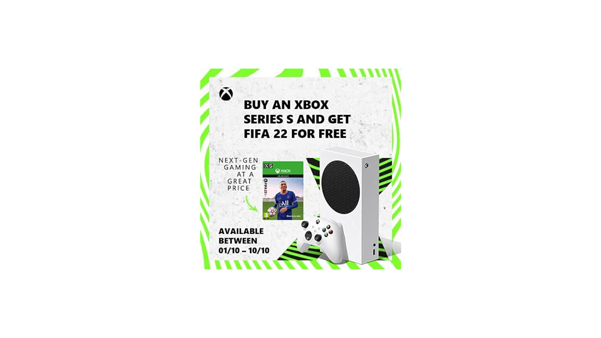 Get an Xbox Series S and FIFA 22 in the U.K. for just £249.99